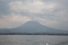 DRC - view on Nyiragongo volcano from Kivu lake (lukasz.semeniuk) Tags: volcano democraticrepublicofcongo nyiragongo kivulake