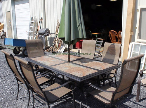 Patio Table & Chairs - $467.50 (Sold April 24, 2015)