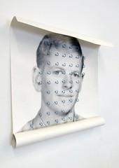 (Eli Craven) Tags: portrait art collage print photo eli assemblage roll craven hooks