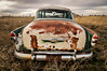 Rusty Butt (PT Photo) Tags: old car clouds weeds rust colorado chevy hdr sigma1020mm dphdr ptphoto lightroom5 pse12