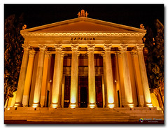 20080318_1934 (gabrielpsarras) Tags: building monument architecture night outdoors downtown athens greece historical column zappeion