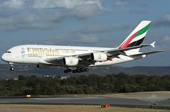 VH-EEG A388 EMIRATES (QFA744) Tags: emirates a388 vheeg