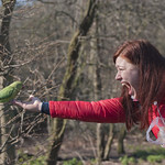 "Girl feeding bird<a href=""http://www.flickr.com/photos/28211982@N07/25648034942/"" target=""_blank"">View on Flickr</a>"