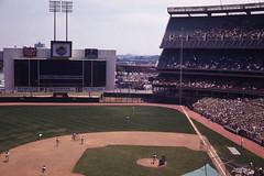 Shea Stadiumm 1969 (Manzari) Tags: nyc baseball stadium queens giants mets shea