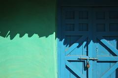 Modest ingenuity. (Gattam Pattam) Tags: shadow sun india house colour wall mud minimalism chhattisgarh