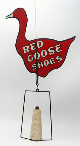 Red Goose Shoes Tin String Holder - $1265.50 (Sold October 2, 2015)