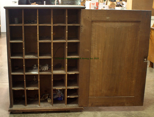 Cubby Hole Cabinet - $231.00 (Sold July 17, 2015)
