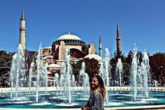 #Sultanahmed #HagiaSofia #Istanbul #Turkey (annagiunashvili) Tags: turkey istanbul hagiasofia sultanahmed