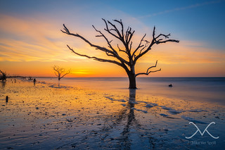 Botany Bay Island Sunrise South Carolina