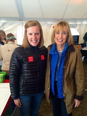 Becky with Governor Hassan
