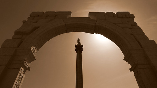 Palmyra Arch at Trafalgar Square