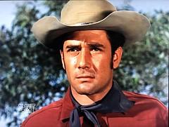 "Robert Fuller in ""Wagon Train."" (stalnakerjack) Tags: television actors hollywood westerns wagontrain robertfuller tvwesterns"