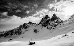 Furcifer Pardalis (Furcifer pardalis) Tags: sky ski clouds forest montagne neige nuage montains chamrousse
