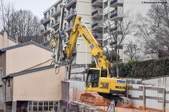Komatsu PC228US (Alexandre Prvot) Tags: construction construccin lorraine worksite buildingsite travaux chantier cugn grandnancy baustellebauplatz