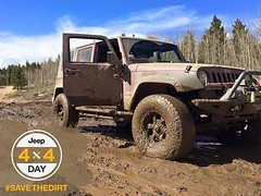 A muddy Jeep 4x4 is a badge of honor. Get messy and join the #SaveTheDirt movement by keeping it dirty until 4/4—or as we call it, 4x4 Day. - photo from jeepofficial (fieldscjdr) Tags: auto from news get cars love car by truck 22 march is photo movement call day post jeep 4x4 florida group like honor automotive it dirty we vehicles badge join messy fields vehicle dodge trucks chrysler ram suv muddy until keeping 2016 a 1203pm jeepofficial fieldscjdr wwwfieldschryslerjeepdodgeramcom httpwwwfacebookcompagesp175032899238947 httpswwwfacebookcomfieldscjdrfloridaphotosa75016523172570810737418351750328992389471004024143006481type3 httpsscontentxxfbcdnnethphotosxat1t3100p180x5401206867510040241430064813165602906849454781ojpg 44—or savethedirt
