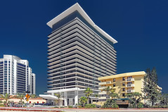 Mei, 5875 Collins Avenue, Miami Beach, Florida, U.S.A. / Architect: Kobi Karp Architecture & Interior Design / Completed: 2008 / Style: Architectural style: Modernism (Lago Tanganyika) Tags: usa building florida modernism highrise mei miamibeach 2008 southflorida magiccity sunshinestate madarin miamidadecounty residentialcondominium kobikarparchitectureinteriordesign 5875collinsavenue