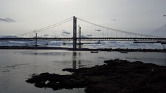 Forth road bridges (ash_russell) Tags: road scotland forth firth