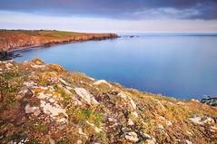 Cornish Coast (Bart Hoga) Tags: ocean sunset sea coast nikon cornwall bart hoga