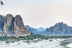 Hingol National Park (saaad.saeed) Tags: park blue pakistan mountains evening rainbow dusk national hour saad whitesand moutains blackmountain saeed balochistan greymountain hingol saadsaeed