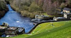 Ladybower Reservoir, Derbyshire (H@y1ey) Tags: building water landscape nikon scenery dam derbyshire peakdistrict scene reservoir estuary waterway southyorkshire ladybowerreservoir d3300