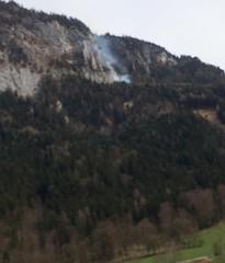 waldbrand_biwi_001 (bayernwelle) Tags: radio bayern berchtesgaden rettung feuerwehr hubschrauber untersberg waldbrand bergwacht einsatz lschen bischofswiesen winkl bayernwelle hallturm