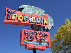 Tucson, Arizona (jericl cat) Tags: arizona classic pool sign swimming vintage hotel neon tucson motor roadside boneyard tropicana