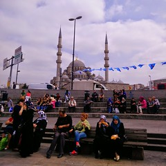 Istanbul along the Bosphorus (ashabot) Tags: street people turkey hijab citylife cities streetlife istanbul citystreets streetscenes peoplewatching peopleoftheworld worldcities