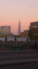 the shard building. science fiction novel futuristic nineteen eighty four. (stategb) Tags: fiction sunset london pyramid science novel shard futuristic dystopia
