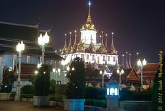 Loha Prasat (cooli_#1) Tags: street old trip food museum asian thailand temple photography boat bangkok buddhist sightseeing barge silom bts thonburi เชียงใหม่ วัด ประเทศไทย sukhumwit ดอยสุเทพ earthasia seaviewrestaurant พุทธศาสนิชน asiathai 2012ancient bangkhunthain rathankosin