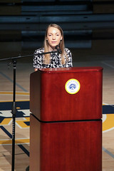PZ20160415-003.jpg (Menlo Photo Bank) Tags: ca people usa girl us spring student election event eliza assembly individual studentgovernment atherton 2016 upperschool menloschool athleticcenter photobypetezivkov