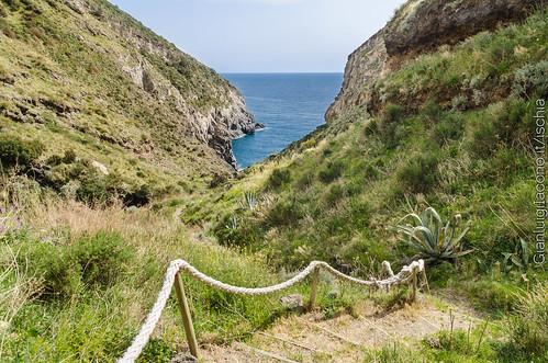 La baia della Pelara - Panza, Forio d'Ischia