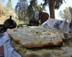 #Palestinian #mothers baking #bread and #manaqeesh with #Zaatar and #cheese in #Nablus. (TeamPalestina) Tags: sunset sky sun sunrise landscape landscapes photo am amazing nice photographer natural sweet live palestine comfort sunrays beautifull palestinian  landscapecaptures