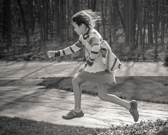 A Body in Motion 105/366 (Watermarq Design) Tags: blackandwhite motion kids fun outdoors jump jumping movement action greyscale project366