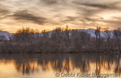 April 8, 2016 - A Gorgeous Sunset from the Boulder area. (Debbi Kibler Bruggeman)