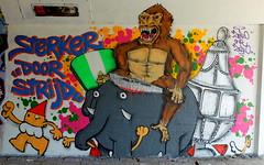 Graffiti Overschie (oerendhard1) Tags: urban streetart art cup underpass graffiti rotterdam overschie ollie tunneltje bokito