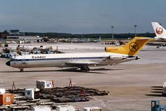 Condor Boeing 727-230/Adv D-ABKK (Kambui) Tags: airplane frankfurt airplanes condor fra aviones avions flugzeuge  avies boeing727 aeroplani kambui  dabkk