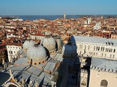 Venezia - 23 (anto_gal) Tags: basilica ombra campanile laguna venezia sanmarco citt veneto 2016 cupole