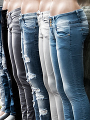 jeans (Harryk59) Tags: black grey legs ripped bleu jeans torn