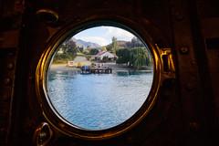 Porthole View (Jan van_Dijk) Tags: lake meer nz porthole queenstown newzeeland lakewakatipu nieuwzeeland earnslaw tssearnslaw walterpeak tssearnslawstoomboatsteamerwalter