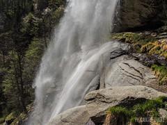Cascata di Noasca (gabriferreri) Tags: parco fauna clouds trekking walking nuvole hiking gran alpi montagna paradiso nazionale camminare camosci camoscio