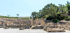 Temple dorique ddi  Apollon - Cit grecque -Kamiros (yann.dimauro) Tags: gr rodos grce egeo