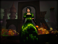 Enjoying Tinker's Hollow at Fantasy Faire 2016 (Tayren Theas) Tags: gothic goth victorian rfl steampunk tff fantasyfaire tayrentheas mayahparx tayrensfantasyfashions tinkershollow