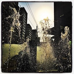 Fountain at assurance building in #Gulshan... (shahidul001) Tags: water architecture dhaka gulshan eavig uploaded:by=flickstagram instagram:photo=1238884899035835707331697074