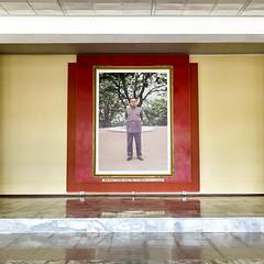 Kim Il-Sung - Wangjaesan Revolutionary Museum (Tom Peddle) Tags: monument museum war kim border north chinese grand korea il korean revolutionary province sung dprk hamgyong northhamgyong jilinsheng wangjaesan yanbianchaoxianzuzizhizhou