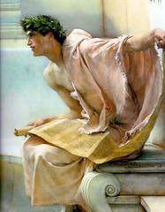 Alma-Tadema, A Reading from Homer (detail)