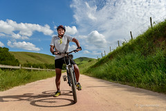 Mountain biking (Igor Alecsander Fotografia) Tags: brazil people senior bike bicycle sport brasil ensaio pessoas gente mountainbike bicicleta mtb ciclismo esporte aventura valena atletas valedocaf ambientalportrait