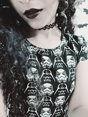 #starwarsgirl (rakhellllllllllll) Tags: starwars gothic goth starwarsgirl