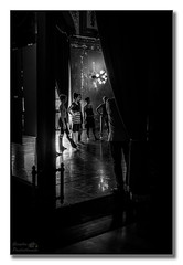 Ballet practice (Explored) (Descended from Ding the Devil) Tags: girls blackandwhite bw italy ballet monochrome dancers indoor tights sicily practice fullframe operahouse palermo leotard teatromassimo mirrorless photoborder sonya7mkii