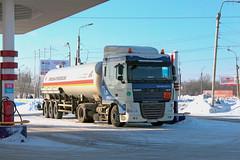 DAF FT XF105.460  B 831 TX 178 (RUS) (zauralec) Tags: auto b car tx ft truk 178 daf 831 rus   kurgan     xf105460   shoppingcenterhypercity