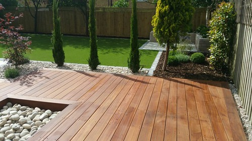 Landscape Gardening Wilmslow -  Decking Paving and Artificial Lawn Image 28
